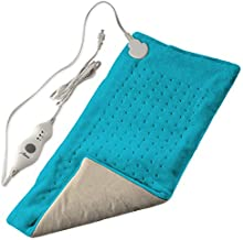 """XL Heating Pad for Back Pain w/Auto Off 