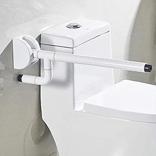 Badkamerleuningen, oude wastafels, handwas, antislip, veiligheidsgreep, weegschaal tegen vallen Single pole Wit