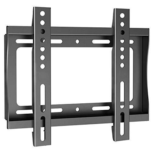 TV Wandhalterung Fernseher Halterung für 17-42 Zoll Flach&Curved Fernseher Oder Monitor bis zu 30kg, Max.VESA 200x200mm