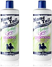 Mane 'n Tail Herbal Gro Shampoo and Conditioner Olive Oil Infused 27.05 Ounce Each