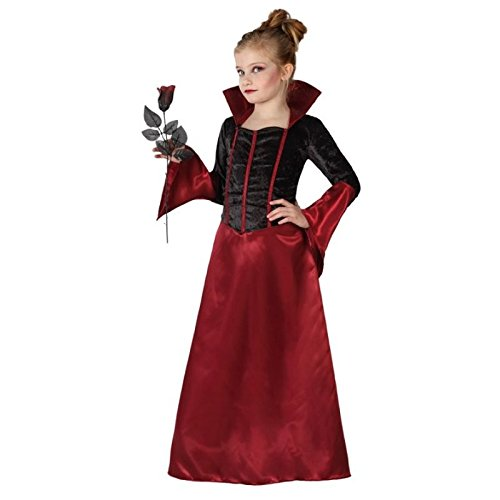 Atosa 22748 Disfraz vampiresa 10-12 años, talla niña , color/modelo surtido