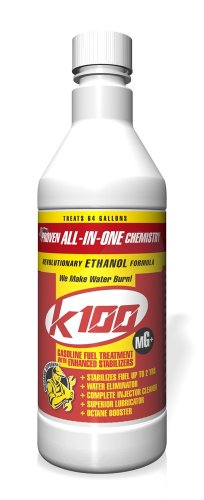 K100 MG Gasoline Treatment with Stabilizer - 12/32 oz. case
