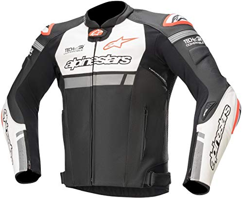 Alpinestars Chaqueta moto Missile Ignition Lt Jacket Tech-air Compatible Black White Red...