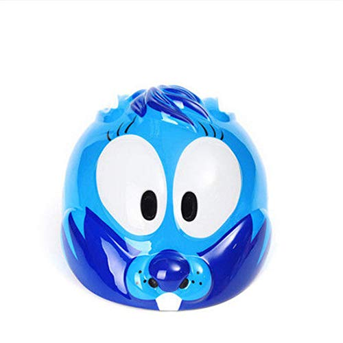 Helmet HCGS Kids Bicycle Helmets Animal Seal City Off-Road Mountain Bike Outdoor Sports Safety Child Helmets 55-57 Blue Pink 4