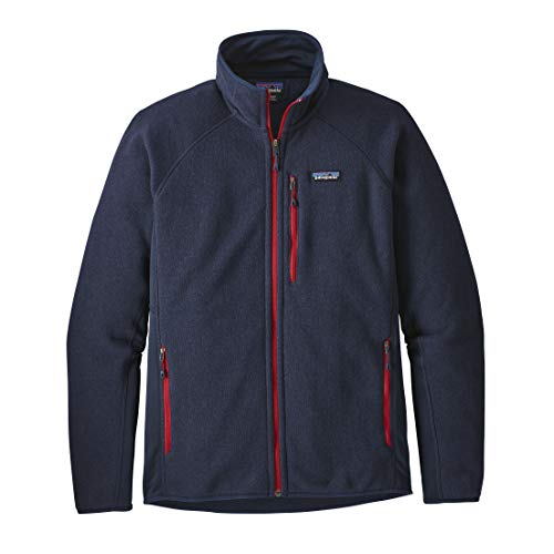 Patagonia Herren M's Performance Better Sweater JKT Jacket, Marineblau, M
