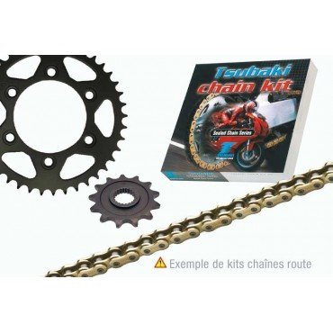 Derbi 50 SM drd-00/05-kit catena 15/53 Tsubaki renforce-486233
