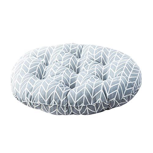 Thrivinger Cuscino Rotondo per Sedia da Meditazione - Cuscino Rotondo per Sedia - Cuscino per Sedile Yoga Cuscino per Finestra Tatami Home Office Sedia da Giardino per Sala da Pranzo