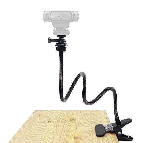 Soporte para cámara web de 25 pulgadas – Soporte flexible para soporte para Logitech Webcam C920s, C930e, C930, C920, C922x, C922, Brio 4K, C925e, C615, Streamcam