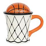 Shumo Simpatico caffè Creativo Tazza da Latte Modello da Basket Colazione Farina D'Avena Gelato tè Tazza da caffè con Impugnatura