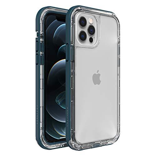 LifeProof Next - sturz und staubsichere Schutzhülle für Apple iPhone 12 / 12 Pro, blau/transparent