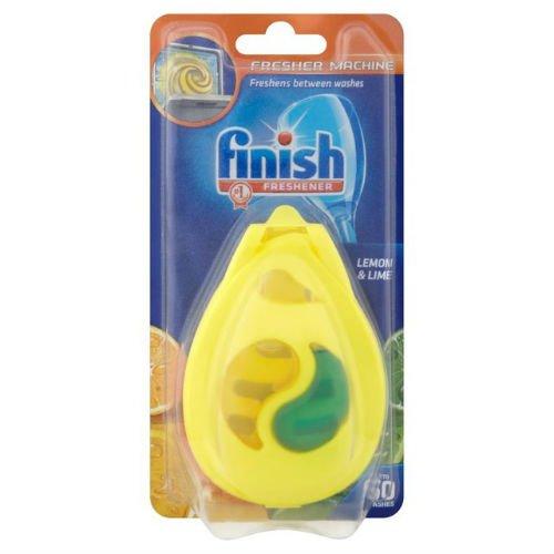 Finish - Deodorante per lavastoviglie, confezione da 4