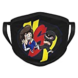 Ninja Sex Party Logo Black Border Masks,Outdoor Bandanas,Mouth Guard,Balaclava,Dustproof Scarf,Face Cover,Neck Gaiter