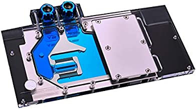 GPU Copper Water Cooling Block Full Cover Waterblock Water Block for Graphic Card MSI GTX 1080 Ti Trio RBW RGB LED 5V 3PIN Liquid Cooler Cooling Remote Control