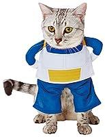 ペティオ (Petio) キャラペティ ドラゴンボール 猫用変身着ぐるみウェア ベジータ