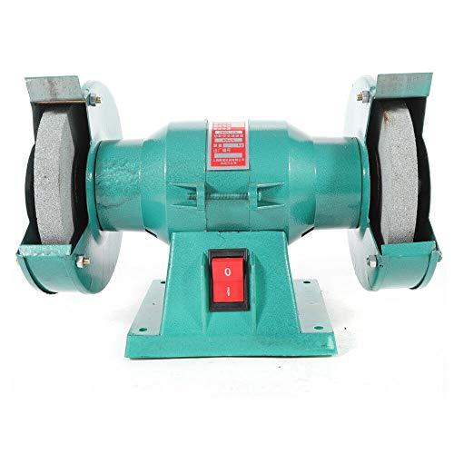 Amoladora de Banco, Esmeriladora de AC 250W, 125mm Doble Amoladora de Muela