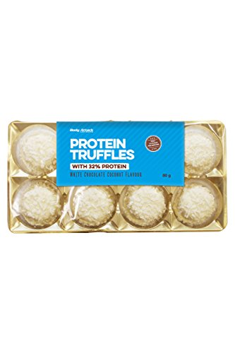 Body Attack Protein Truffles, 1er Pack (1x 80g) (White Chocolate Coconut)