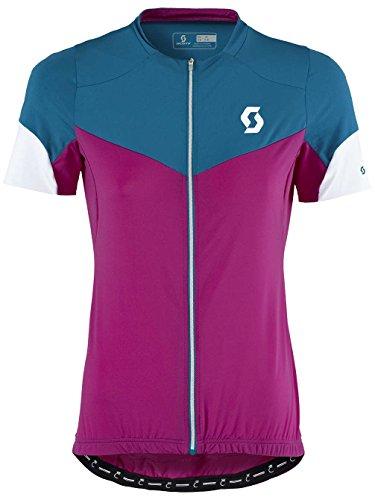 Scott Damen Bike Funktionsshirt Endurance F-Zip Jersey