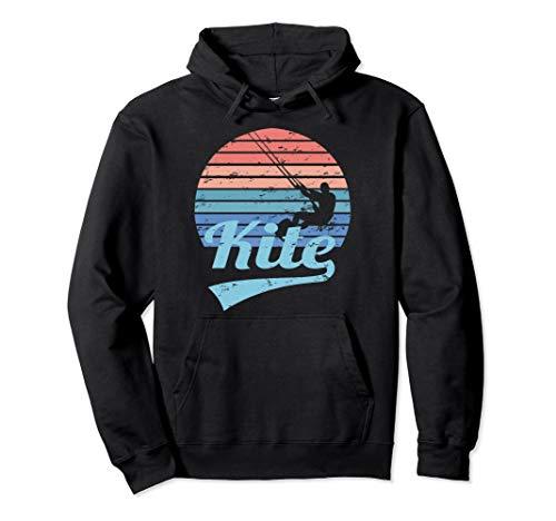 KITE Kitesurfing Kiteboarding Kitesurfen Surf Vintage Retro Pullover Hoodie
