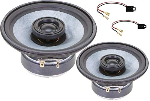Audio System Cofit Compatible Con VW T4 Trasero Evo Altavoz Co-Series Especial Coaxial Sistema 12cm 1 Par