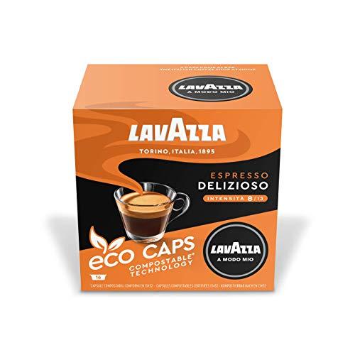 Lavazza A Modo Mio Espresso Delizioso, Kaffee, Kaffeekapseln, Arabica, 64 Kapseln