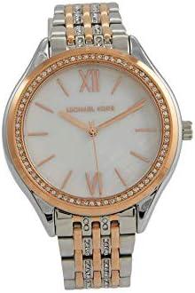 Michael Kors Women's Mindy Two-Tone Stainless Steel Bracelet Watch