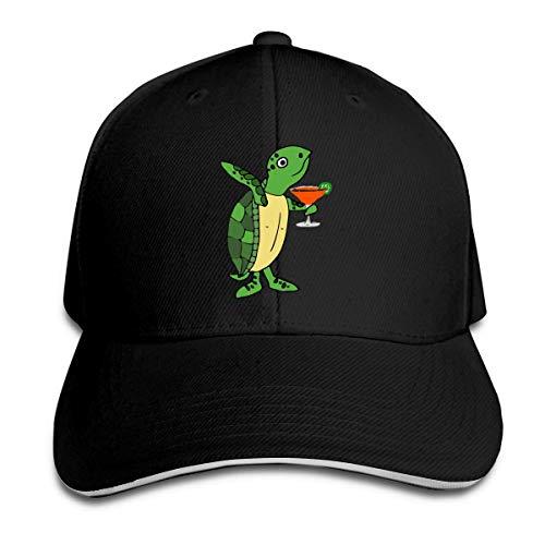 Masshro mannen en vrouwen zeeschildpad drinken trucker hoed baseballcap