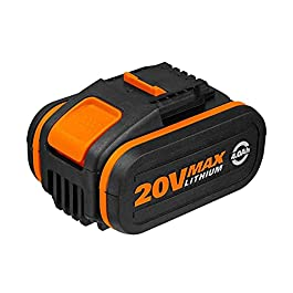 WORX – Batterie Lithium-Ion 20V – 4Ah (compatible outils sans fil Worx PowerShare)