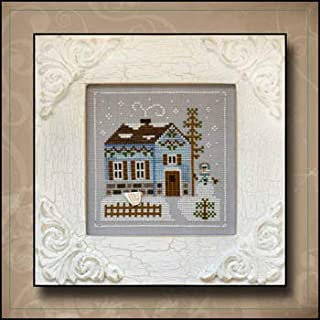 Frosty Forest 7-Snowgirl's Cottage Cross Stitch Chart