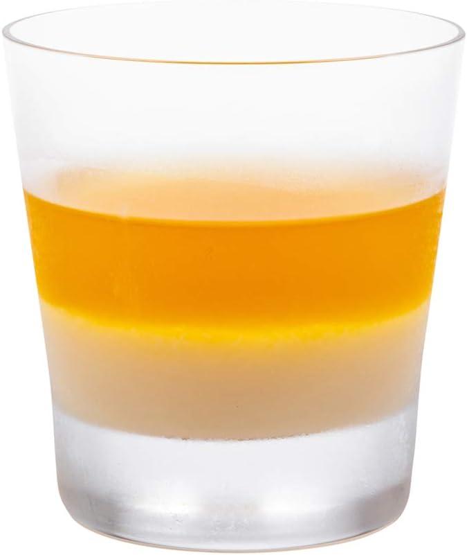 Moda Nude 10 Ounce Crystal Rocks of 6 Glasses Set Free Max 46% OFF shipping on posting reviews Dishwasher-Sa