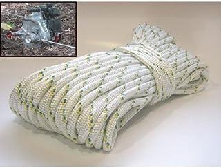 Almencla 2pack ATV UTV Winch Rubber Line Cable Lift Stopper Rubber Cushion Screws