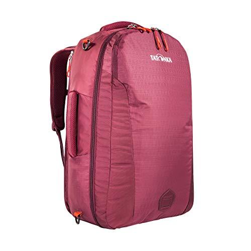 Tatonka 1160 Flightcase Handgepäck-Rucksack - 54 x 33 x 18 cm - Kofferrucksack mit verstaubaren Trägern - 40 Liter - für Damen und Herren - Bordeaux red