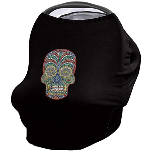 Best Review Of Mexican Style Nursing Cover for Baby Breastfeeding, Soft Breathable Stretchy Carseat ...
