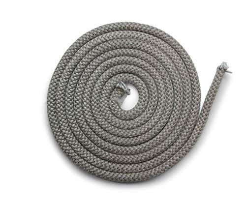 Joint de cheminée 3 m, Ø 12 mm, joint de porte non autocollant, pièce de rechange compatible avec de nombreux modèles de poêles Wamsler