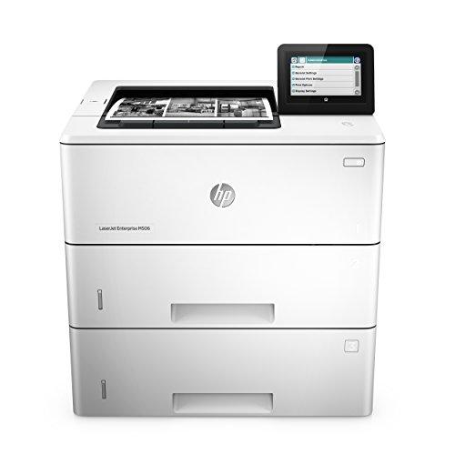 HP LaserJet Enterprise M506x (F2A70A) Mono Laserdrucker (Drucker, Duplex, LAN, ePrint, AirPrint, Cloud Print, NFC, USB, 1200 x 1200 dpi) weiß