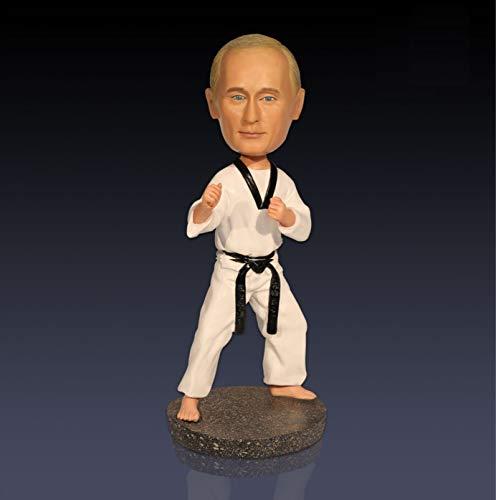 Russischer Präsident Wladimir Wladimirowitsch Putin Wackelkopf Spielzeug Statue Actionfigur Skulptur für Auto Armaturenbrett Home Office Schreibtisch Dekoration