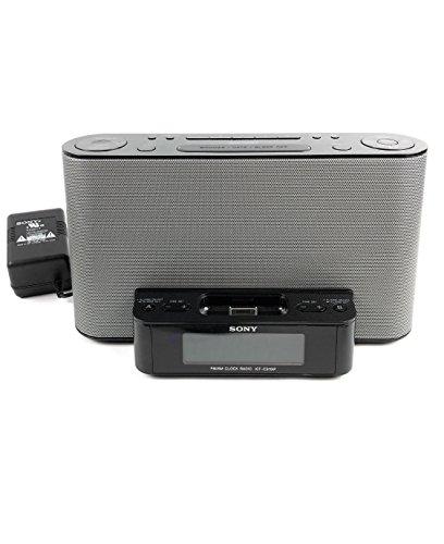Sony ICFCS10iP - AM/FM Clock Radio with iPod/iPhone Speaker Dock.
