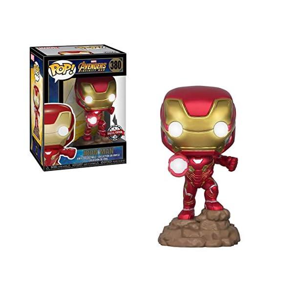Funko Pop Iron Man con luces (Los Vengadores: Infinity War 380) Funko Pop Los Vengadores