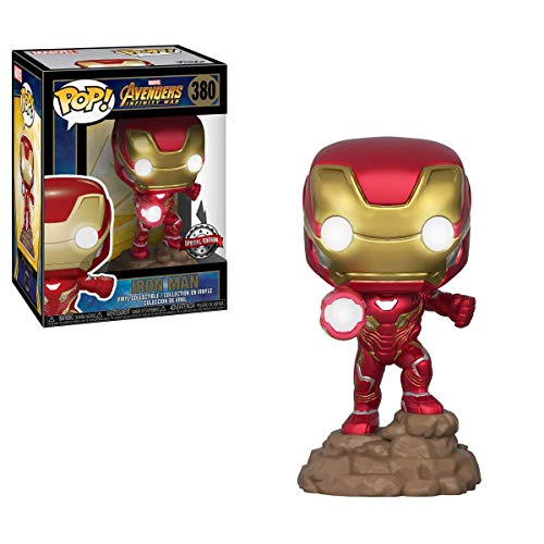 Funko POP!: Marvel: Vengadores: Infinity War: Iron Man Exclusivo