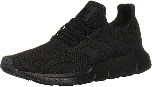 adidas Originals Men's Swift Run Sneaker, Black/Black, 12 M US