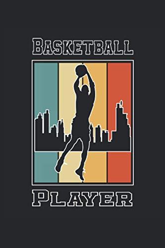Basketball Player: Cuaderno de rayas cuaderno de escritura diario ToDo libro de tareas libro de cuentos (15,24 x 22,86 cm; ca. A5) 120 páginas. Para ... dunk slamdunk equipo de baloncesto.