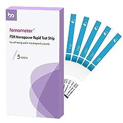 powerful Follicle Stimulating Hormone Test-FSH Test Strip Kit for Female Fertility / Menopause, from 5 Packs …
