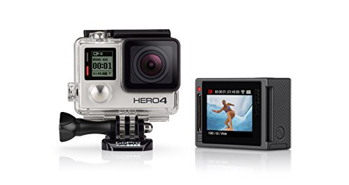 GoPro HERO4 Silver Edition Adventure Videocamera 12 MP, 4K/15 fps, 1080p/60 fps, 720p/120 fps, Wi-Fi, Bluetooth [Spagna]