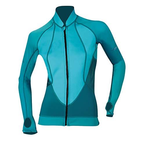 Beuchat Women\'s Atoll Reisverschluss Jacke, blau, M