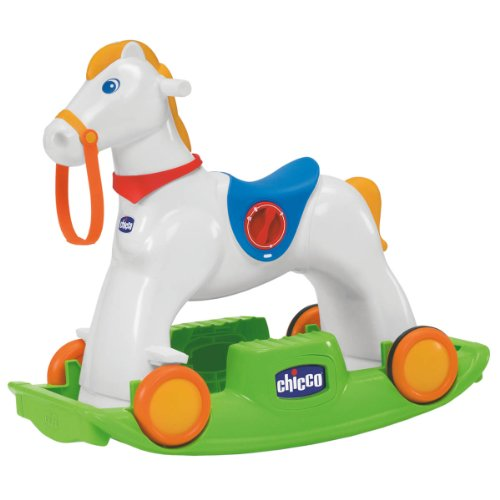 Chicco Chicco Rodeo Gioco Cavalcabile 3 in 1, Multicolore