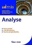 Analyse CAPES externe et agrégation interne maths