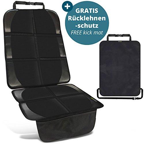 Coprisedile bambini - include 1 proteggi schienale GRATUITO - protezione di alta qualità per sedile auto con vestibilità universale - adatto per Isofix - facile da pulire e fissare - by SMARTPEAS®