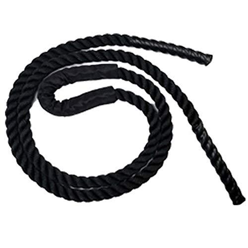 AmandaJ Cuerda de salto pesada, cuerda de saltar antideslizante, para exteriores, para...