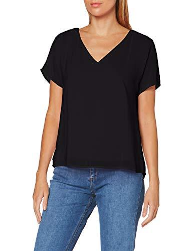 ESPRIT Collection Damen 050EO1F303 Bluse, 001/BLACK, M