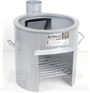 サンカ 極厚かまど 煙突取付式(鍋受リング付) 38型 OS-0659