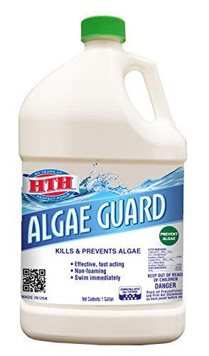 HTH 67045 Swimming Pool Cleanser, 1 gal, Algae Guard 10